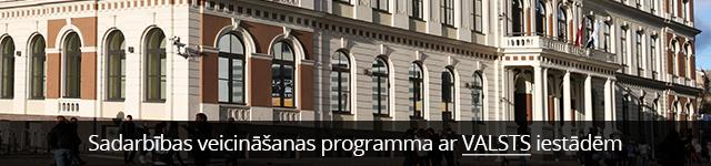 Sadarbības veicināšanas programma ar valsts iestādēm