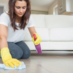 Cleaning up house is bad for women's health