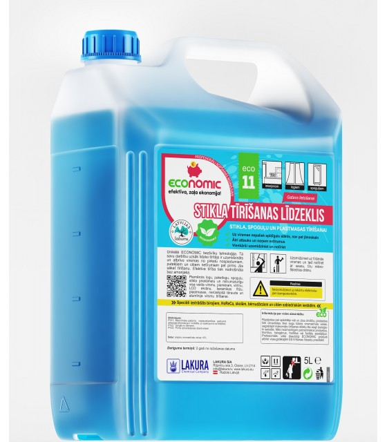 ECO 11 Glass Cleaner 5l