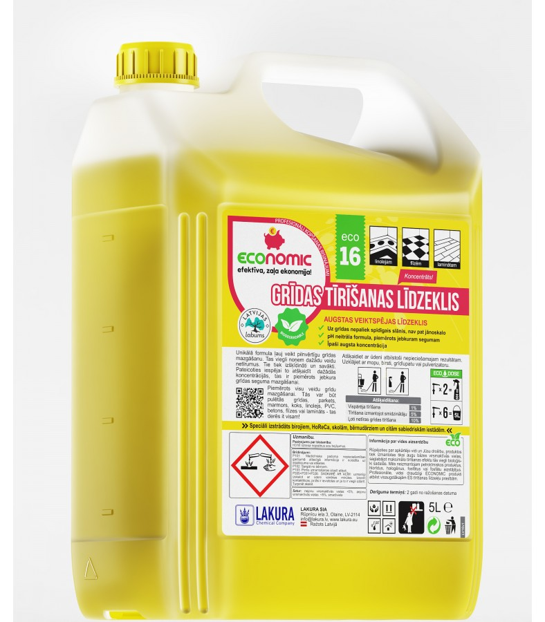 16 Floor Cleaner 5l