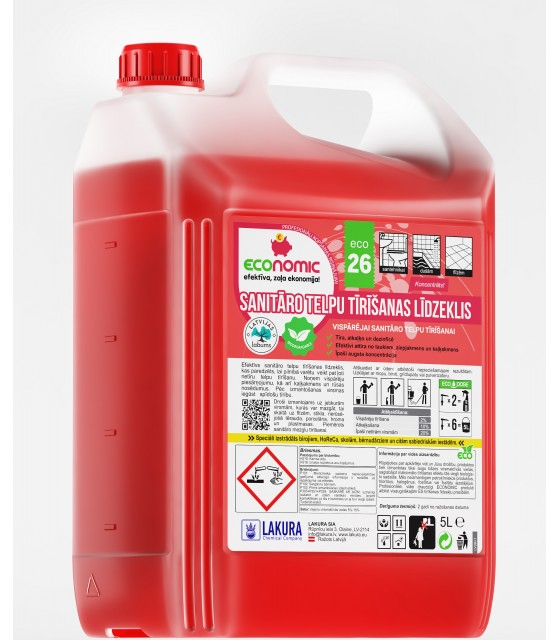 ECO 26 Washroom Cleaner 5l