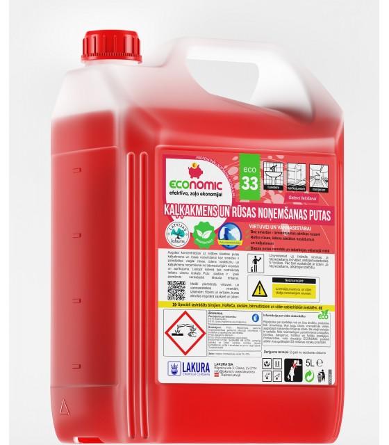 ECO 33 Foaming Limescale Remover 5l