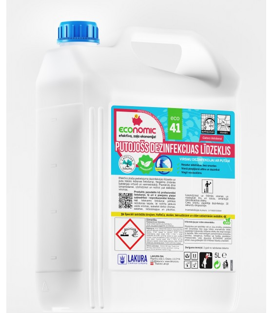 Foaming disinfectant 5l